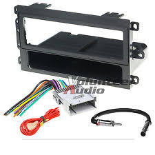 avalanche radio parts & accessories ebay Wiring Harness Adapter For Car Stereo 2004 Avalanche car radio stereo cd player dash install mounting trim panel kit harness antenna (fits Car Stereo Plug Adapters