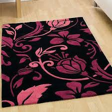 pink rugs for pink black white damask rug rugs pink rugs