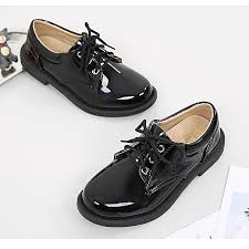 boys leather shoes black autumn children shoes boys and girls leather shoes for kids baby rubber