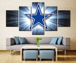 5 piece canvas print dallas cowboys logo poster cuadros decoracion paintings on canvas wall art for home decorations wall decor affiliate on dallas cowboys logo wall art with 5 piece canvas print dallas cowboys logo poster cuadros decoracion