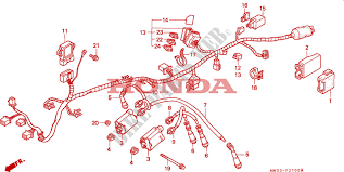 wire harness cb750 frame cb750m 1991 cb 750 moto honda motorcycle honda moto 750 cb 1991 cb750m frame wire harness cb750