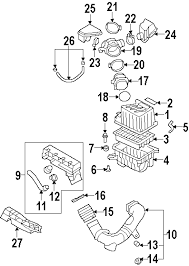 parts com® hyundai santa fe engine appearance cover oem parts diagrams 2008 hyundai santa fe limited v6 3 3 liter gas engine appearance cover