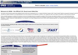 first need the global entry program