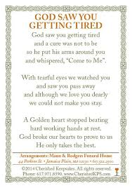 Funeral Words For Cards Adorable This Was On My Daddy's Prayer Card I Miss You Rest Peacefully