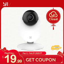 <b>YI 1080p Home</b> Camera Indoor IP Security Surveillance System with ...