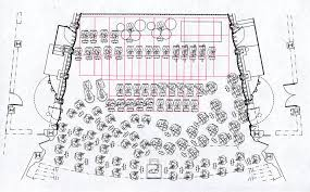 Severance Hall Stage Set Up Plan For A Performance Including