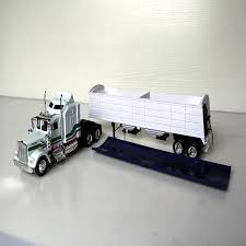 <b>1/43</b> Simulation Classic Toy <b>Truck</b> United States KENWORTH W900 ...