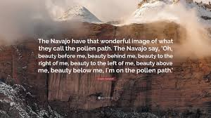 Navajo Quotes Beauty