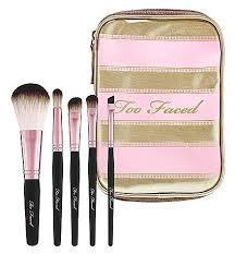 too faced brush set. too faced teddy bear hair professional brush set - $79 a of five ravishing \