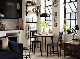 ikea white living room furniture. black and white kitchen with small round table two chairs in the corner ikea living room furniture