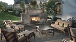 Fascinating Outdoor Fireplace Patio Designs SBL Home At Ideas
