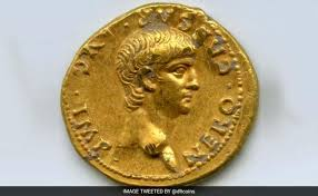 'Exceptionally Rare' Roman <b>Gold</b> Coin With <b>Nero's</b> Face Found In ...