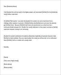 Recommendation Letter For Student Scholarship Pdf Letters Of Personal Recommendation 7 Sample Personal Recommendation