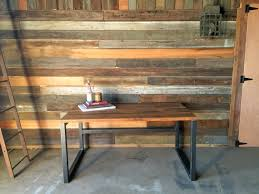 industrial reclaimed wood furniture. reclaimed barn wood desk industrial modern furniture