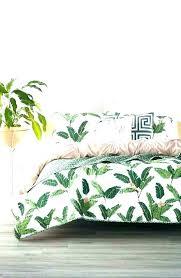 palm leaf bedding sets