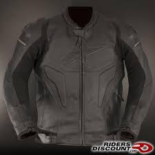 alpinestars black shadow phantom leather jacket kawasaki ninja 300 forum