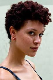 naturally curly short hairstyle