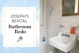 Apartment Therapy Bathrooms A Reversible Rental Bathroom Makeover Under 500 Apartment Therapy