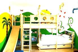 bunk bed with slide and desk.  Desk Kids Bed With Slide Bunk And  Desk Inside Bunk Bed With Slide And Desk L