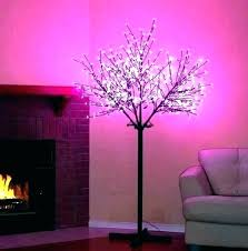 cherry blossom light tree led lamp lighted table blossoms wall sticker blos unusual led tree lamps