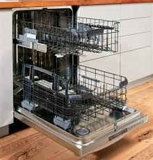 ge profile acirc cent series stainless steel interior dishwasher hidden product image