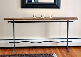 skinny console table. Long Skinny Console Table B