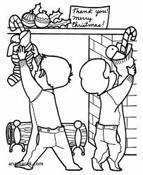 Christmas Stocking Coloring Pages And Free Christmas Coloring