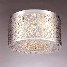 beautiful 5 light chrome chandelier ainhoa 5 light chrome double round crystal chandelier