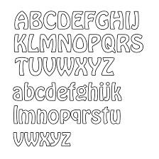 Alphabet Outline Template Alphabet Letters Outline Template Best Of Alphabet Ceiimage Org