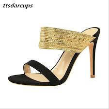<b>Ttsdarcups European And American</b> Retro Style Fine Heel Suede ...