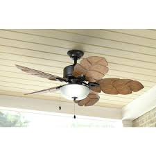 tropical outdoor ceiling fans home decorators collection palm cove in indoor outdoor natural iron ceiling fan
