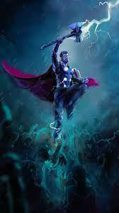 Thor Stormbreaker Axe Lightning HD 4K ...