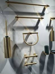 Brass Bathroom Accessories Bathroom Accessories That Let You Tweak The Decor To Your Liking