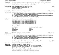 Fine Resume One Job Multiple Titles Contemporary Entry Level