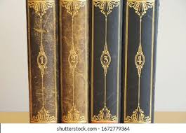 Antique Book Spine High Res Stock Images   Shutterstock