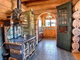 bois rond salon cuisine
