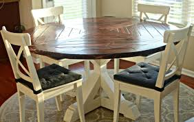 incredible round farmhouse kitchen table inspirations and with leaf