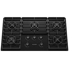 Gas Cooktop Glass Kitchenaid Architect Series Ii 36 In Gas On Glass Gas Cooktop In