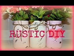 Mason Jar Decorations For A Wedding DIY Mason Jar Rustic Wedding Centerpiece or Decor YouTube 66