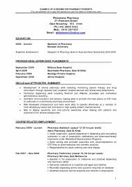 Resume Objective Examples Pharmacist Best Professional Resume