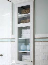 40 Ways To Store More In Your Bath H Bathroom Design Pinterest Simple Inset Bathroom Cabinets Interior