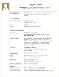 Example Of Resume With Working Experience Example Of Work Experience In Resumes Savebtsaco 9