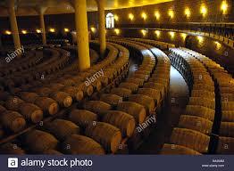 storage oak wine barrels. Oak Barrel Storage Area In COFCO Huaxia Great Wall Wine Co.,LTD Changli County, Hubei Province, China. Sep 2006 Barrels E