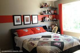 Red Black And Gray Boys Bedroom Design Ideas 6
