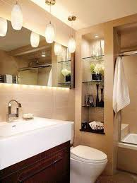 Bathroom Light Fixtures With Pendant Lighting And Strip Lighting ...
