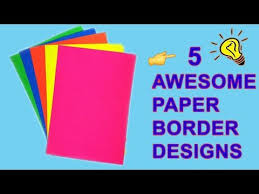 School Cover Page Design Videos Matching How To Decorate Project Files With Cover