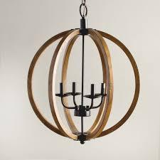 attractive wooden orb light fixture round wood chandelier with design 7 wood orb chandelier r71