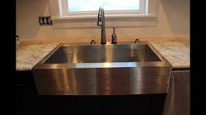 Apron Front Farmhouse Kitchen Sinks Youtube
