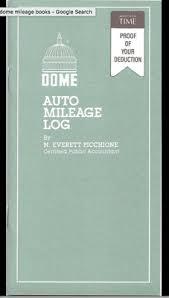 Mileage Book Dome Auto Mileage Log Book 5 39 Each Free Next Day Shipping
