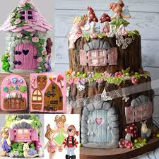 Small Picture 17 best Fairy Garden Cake Ideas images on Pinterest Fairies